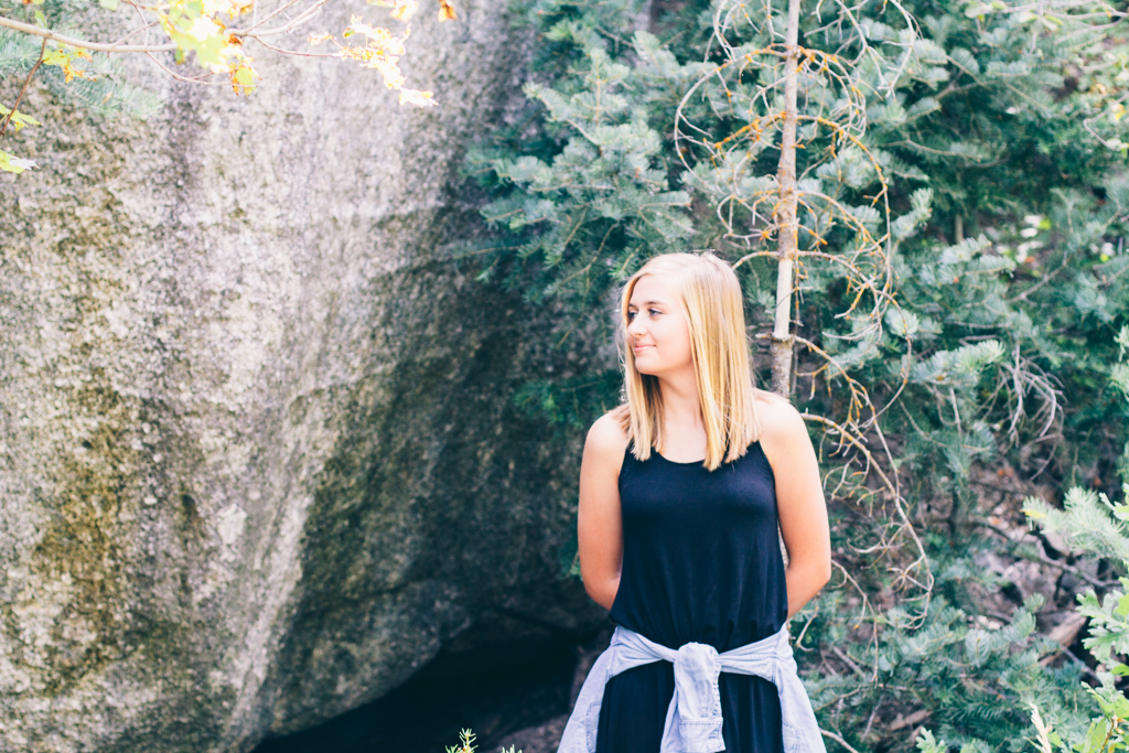 elsa creates, elsa jensen, elsa, creates, utah photographer, photographer, utah, canyon, alta, senior pictures, utah senior photographer, camilla, rock canyon, rock quarry, aspen, fun, cute, graduation, high school, oregon,