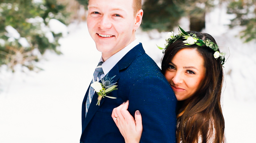 Elsa Creates-Elsa Jensen-Utah Videographer-Wedding Videographer-Winter Bridal Video-First Look-1